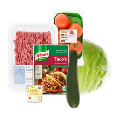 Knorr Wereldgerecht Mexicaanse Taco's Pakket