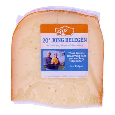 GIJS Boerenkaas Jong Belegen 20+ AVA - stuk