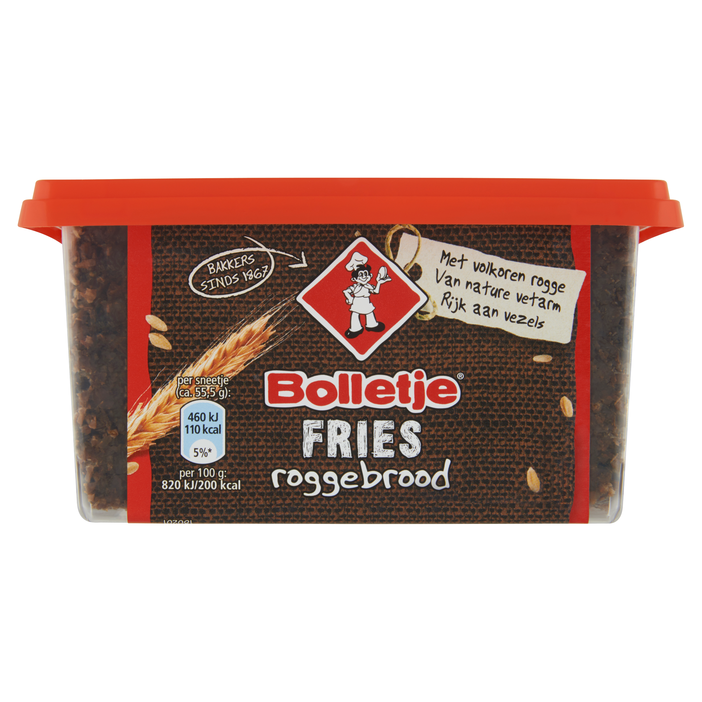 Bolletje Fries Roggebrood 500 g