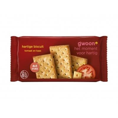 Huismerk Hartige biscuits Italiaanse kruiden
