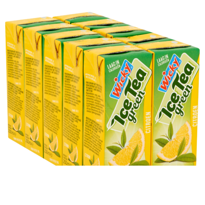 Wicky Ijsthee lemon 10x20 cl