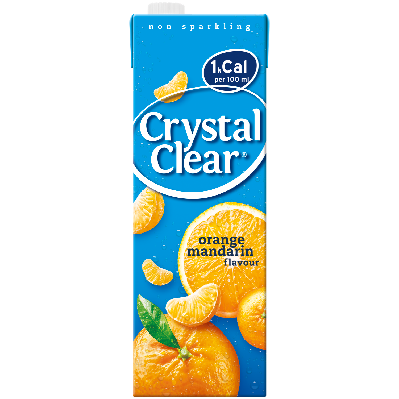 Crystal Clear Sinaasappel & mandarijn
