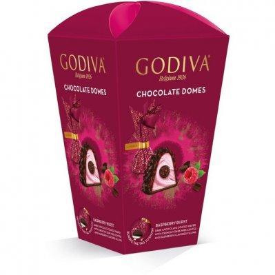 Godiva Domes raspberry