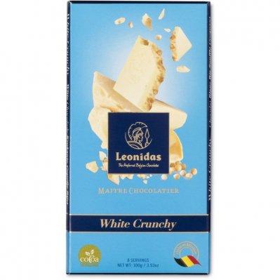 Leonidas Tablet white crunchy gourmet