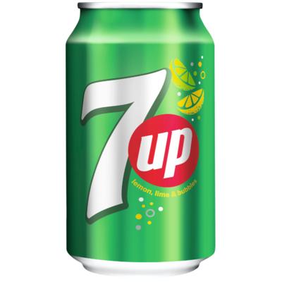 7UP Regular Maximaal 144 blikken per klant.