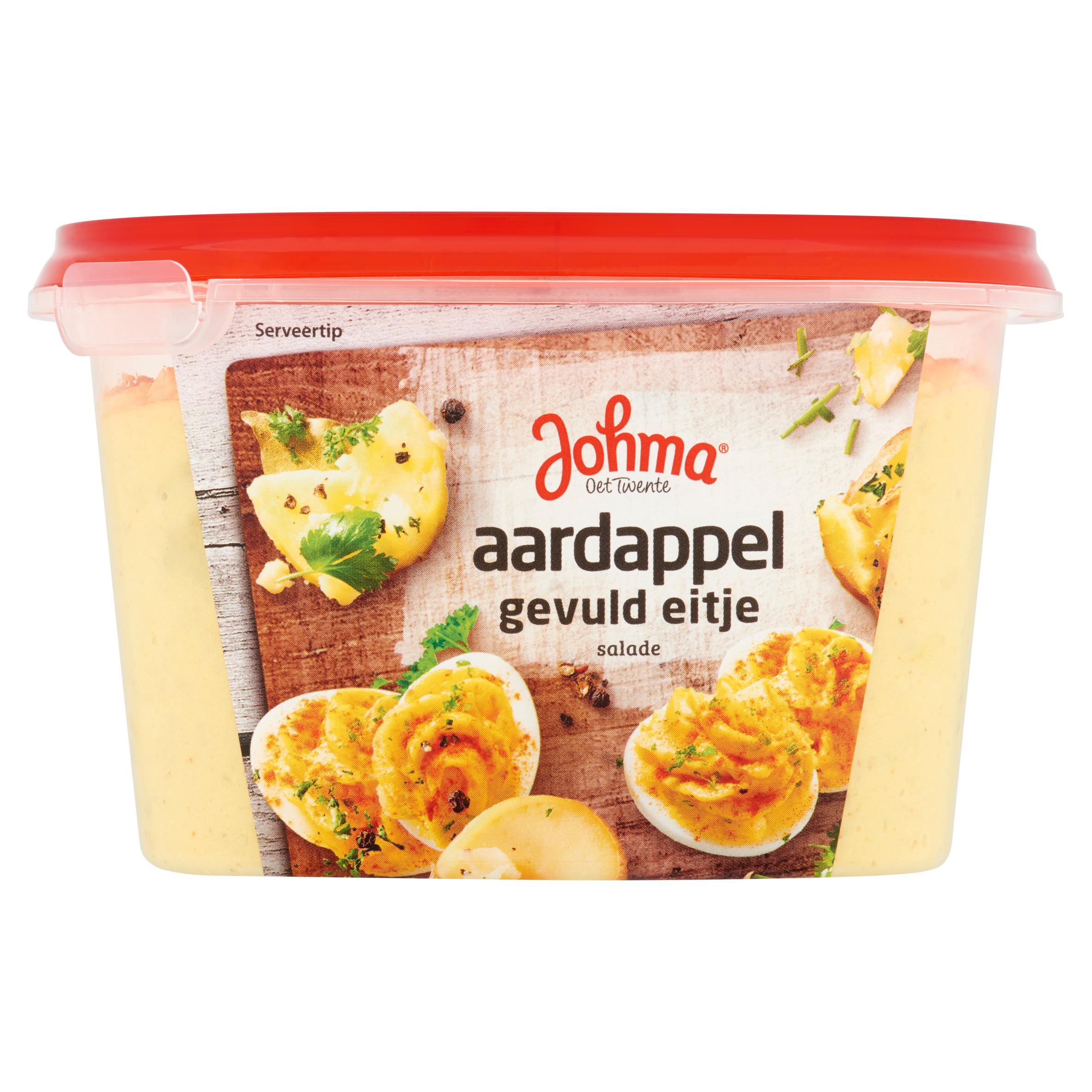 Johma Aardappel Gevuld Eitje Salade 450 g
