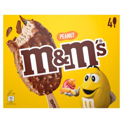M&M's® Pinda IJs 4 Stuks