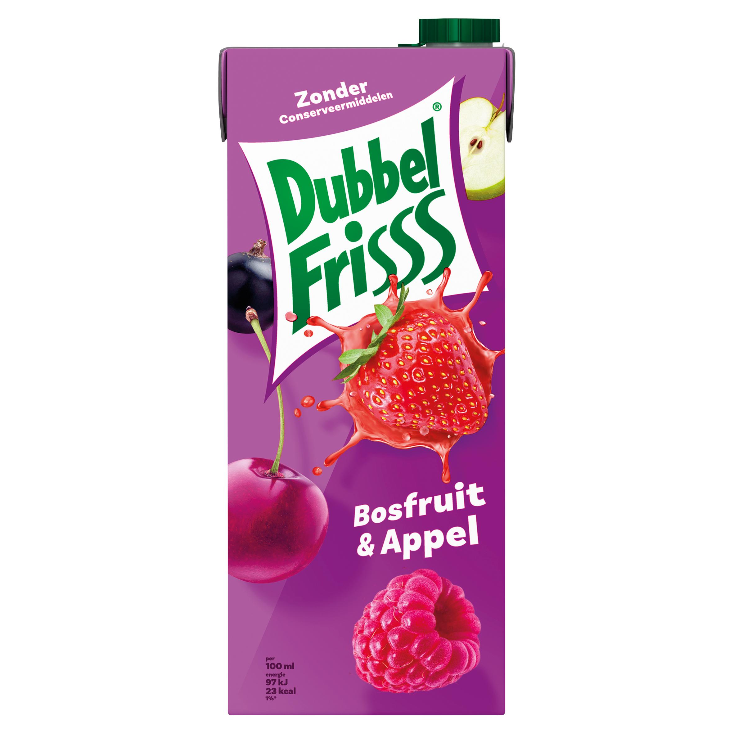 DubbelFrisss Bosfruit & Appel 1,5 L