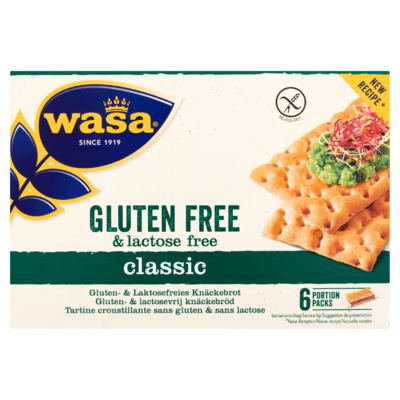 Wasa Gluten- & Lactosevrij Knäckebröd 240 g