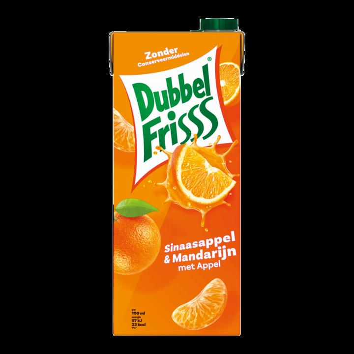 DubbelFrisss Sinaasappel & Mandarijn met Appel