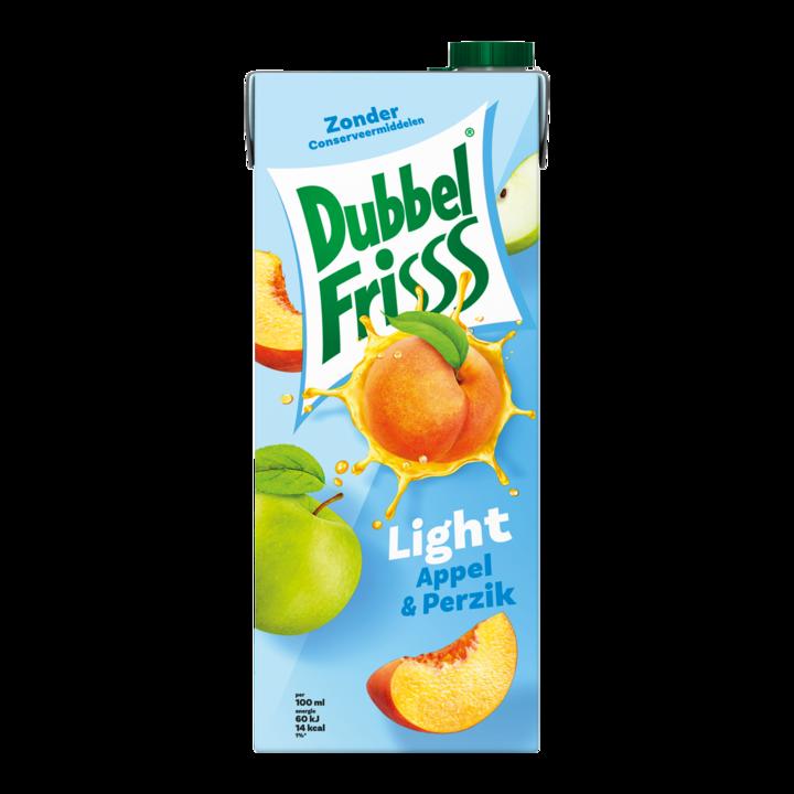 DubbelFrisss Light Appel & Perzik