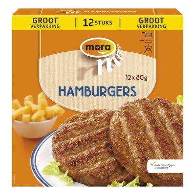 Mora Hamburgers xtra groot