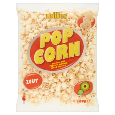 Millies Popcorn zout