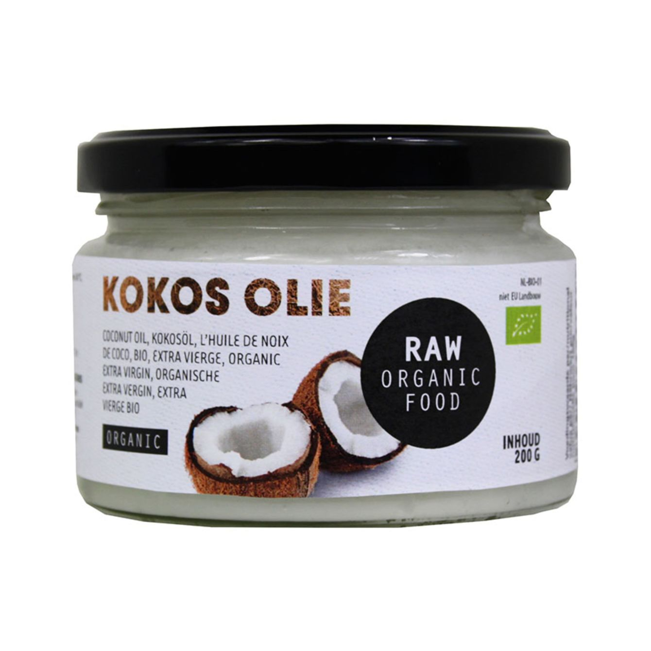 Raw Kokosolie
