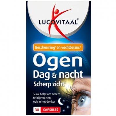 Lucovitaal Ogen dag & nacht scherp zicht capsules