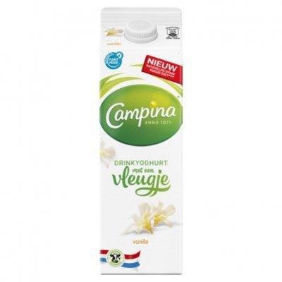 Campina Vleugje vanille drinkyoghurt