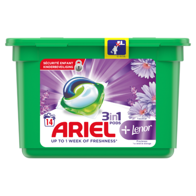 Ariel Wasmiddelcapsules Touch Of Lenor, 14 Wasbeurten
