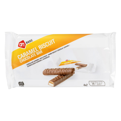 Budget Huismerk Candybar karamel-biscuit