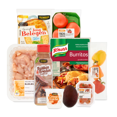 Knorr Wereldgerecht Burritos Pakket - Extra Groenten