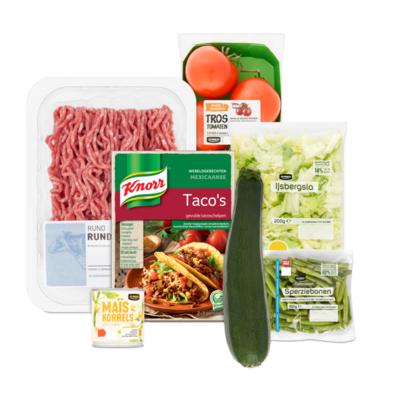 Knorr Wereldgerecht Mexicaanse Taco's Pakket - Extra Groenten