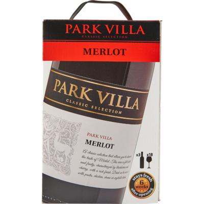 Park Villa Merlot bag in box