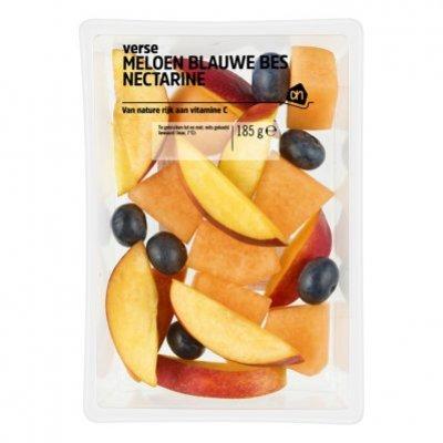 Huismerk Meloen, blauwe bes, nectarine