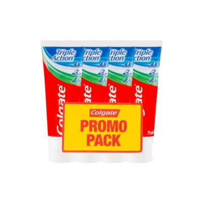 Colgate Triple Action Tandpasta Promo Pack