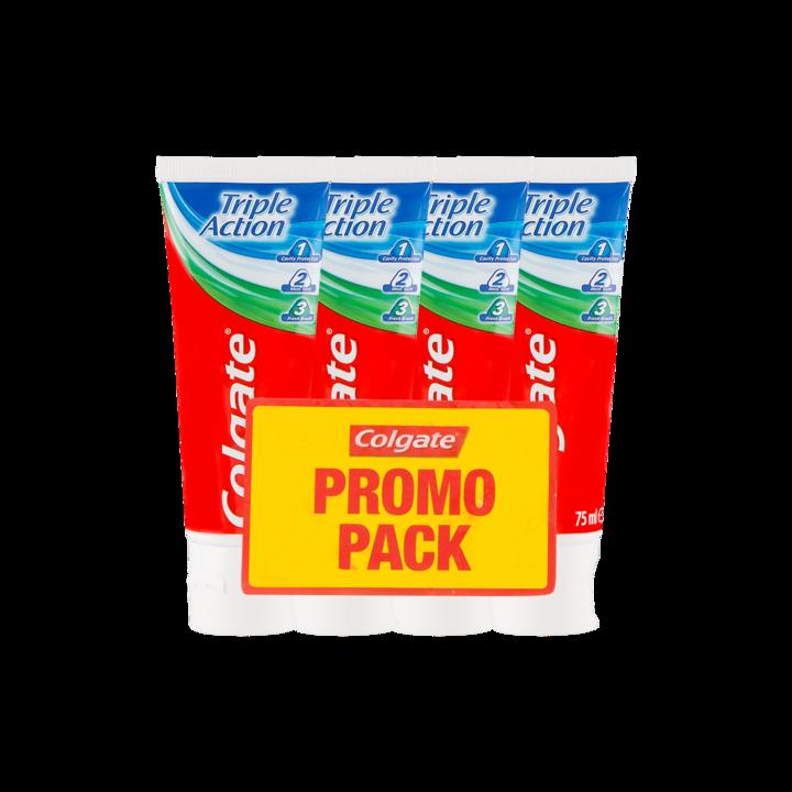 Colgate Triple Action Tandpasta Promo Pack