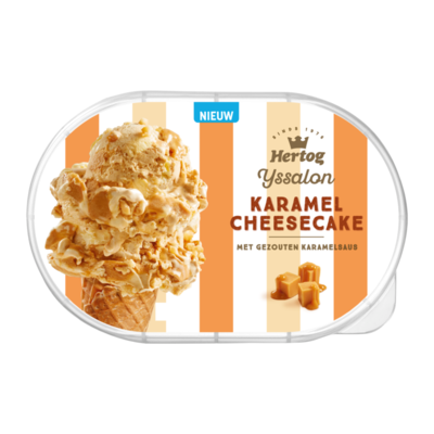 Hertog Ijssalon Karamel Cheesecake