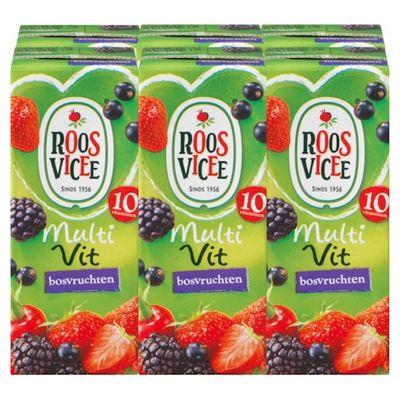 Roosvicee multivit bosvruchten 6-pack