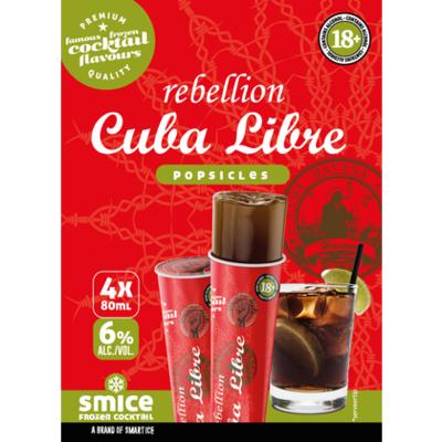 Smice Frozen cocktail cubra libre 4st