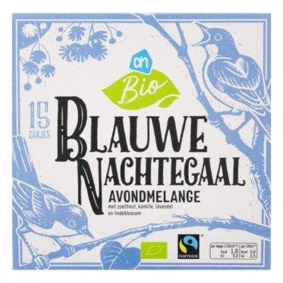 Huismerk Biologisch Blauwe nachtegaal