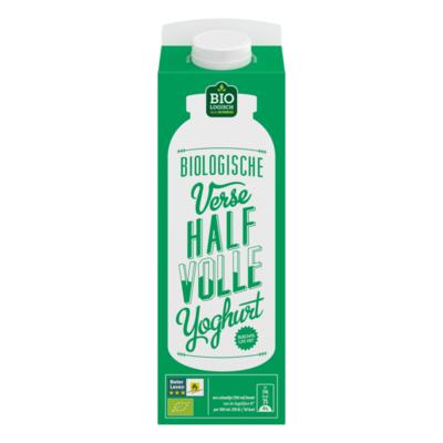 Huismerk Biologische Verse Halfvolle Yoghurt