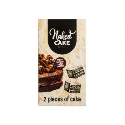 Naked cake Brownie salted caramel