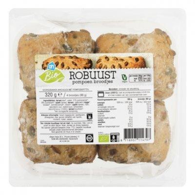 AH Biologisch Robuust pompoen broodjes
