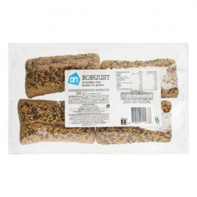 Huismerk Robuust broodje met zaden en pitten