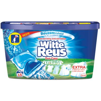 Witte Reus Vloeibaar wasmiddel duo caps