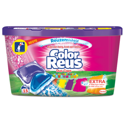 Color Reus Vloeibaar wasmiddel duo caps