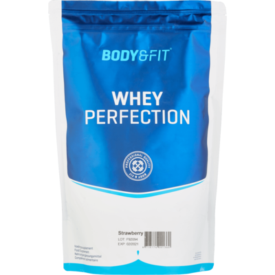 Body&Fit Whey perfection strawberry