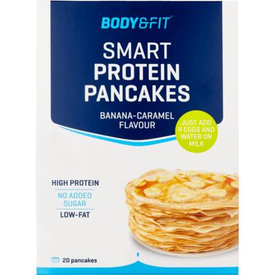 Body&Fit Smart protein pancakemix banaan/caramel