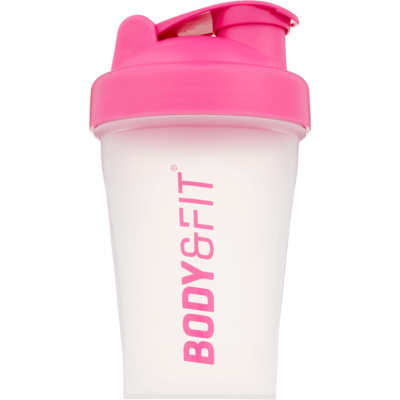 Body&Fit Shaker transparant pink