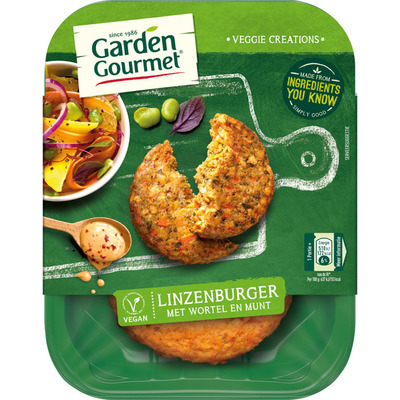 Garden Gourmet Vegetarische linzenburger
