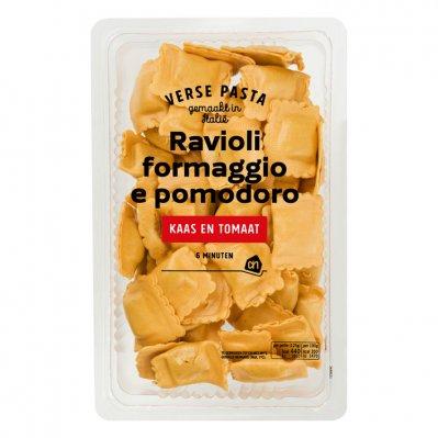 Huismerk Verse ravioli formaggio e pomodoro