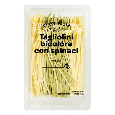 Huismerk Verse tagliolini bicolore con spinaci