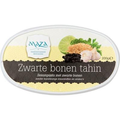 Maza Zwarte bonen tahin