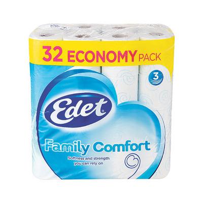Edet Family comfort 3-laags toiletpapier
