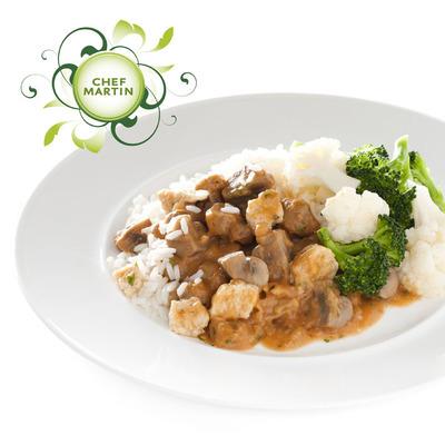 Chef Martin Paddenstoelenragout broc bloemkool rijst
