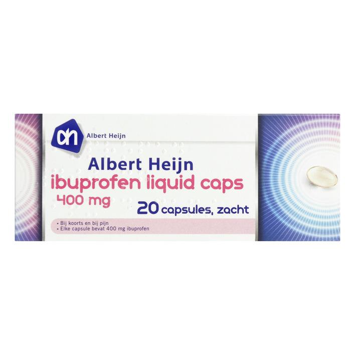 Huismerk Ibuprofen liquid caps 400 mg