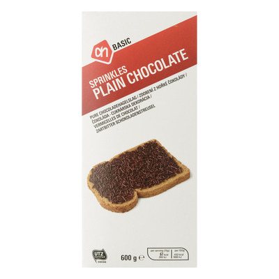 Budget Huismerk Hagelslag pure chocolade