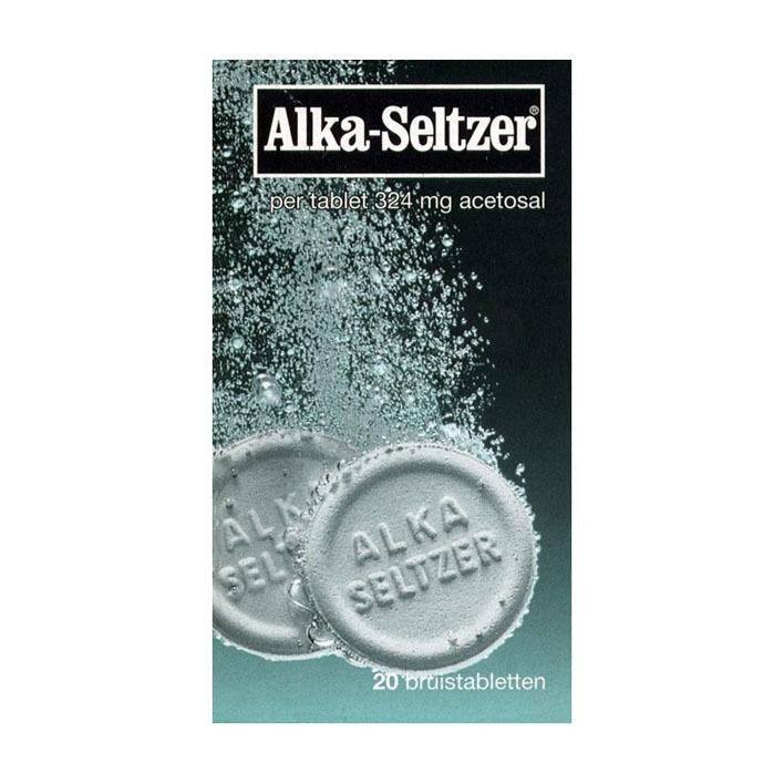 Alka Seltzer Bruistabletten